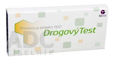 TOZAX Multidrogový test – 10 druhov drog jednokrokový test  1 ks